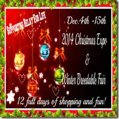 2014 SL Christmas Expo & Winter Breedables Fair Poster